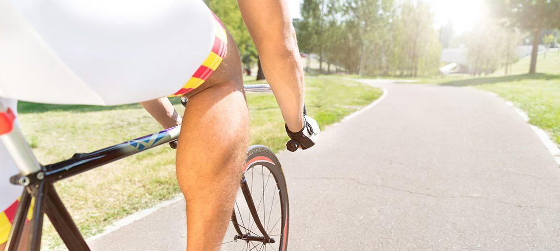 Kolesarjenje - vpliv na telo