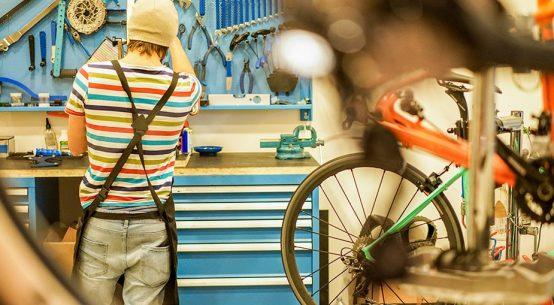 Priprava kolesa na novo sezono