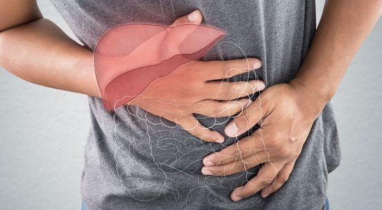 Znaki za zamaščena jetra