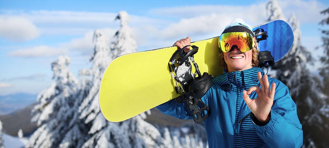 Popolna snowboard deska