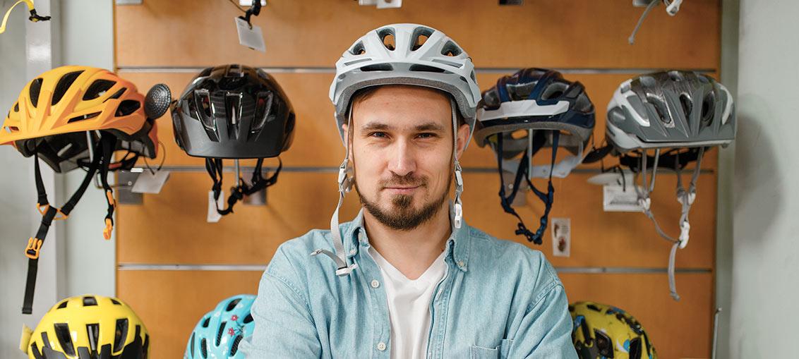 Nakup kolesarske čelade