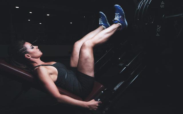 Vaja za krepitev mišic nog
