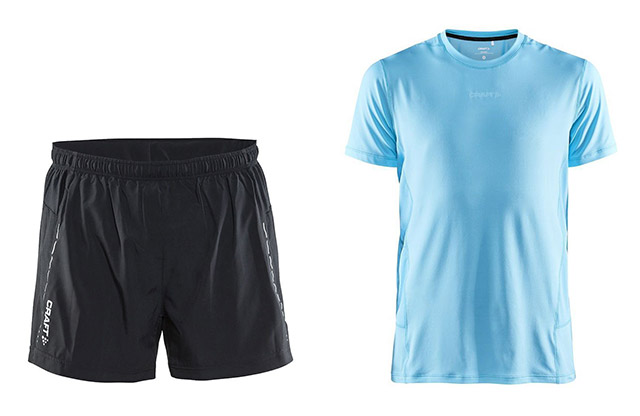 Tekaške hlače in majica Craft