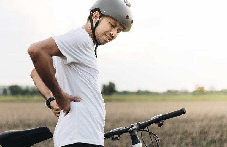 Poškodbe pri kolesarjenju