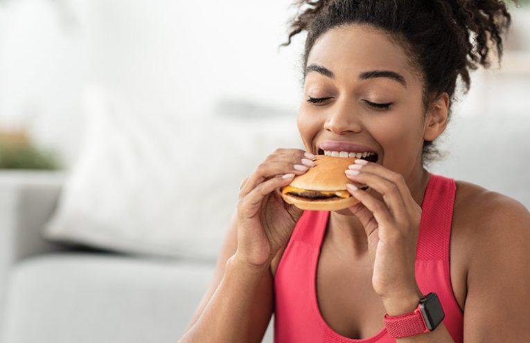 Slaba živila pred vadbo