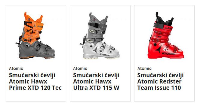 Smučarski čevlji Atomic
