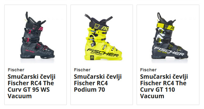 Smučarski čevlji Fischer
