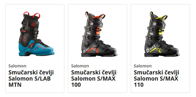 Smučarski čevlji Salomon