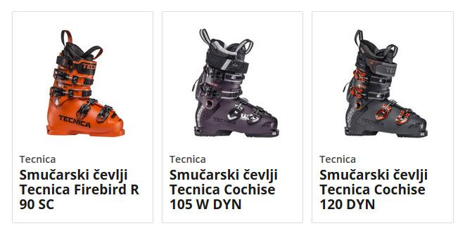 Smučarski čevlji Tecnica