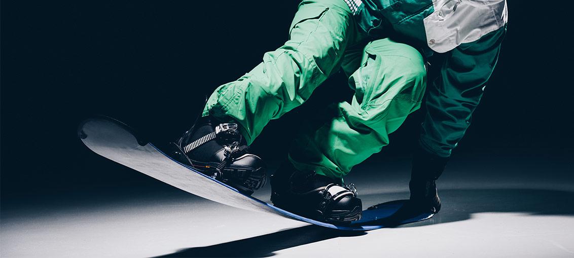 Snowboard buci
