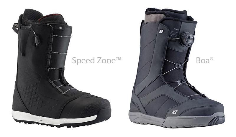 Speed Zone™ in Boa® sistem zavezovanja