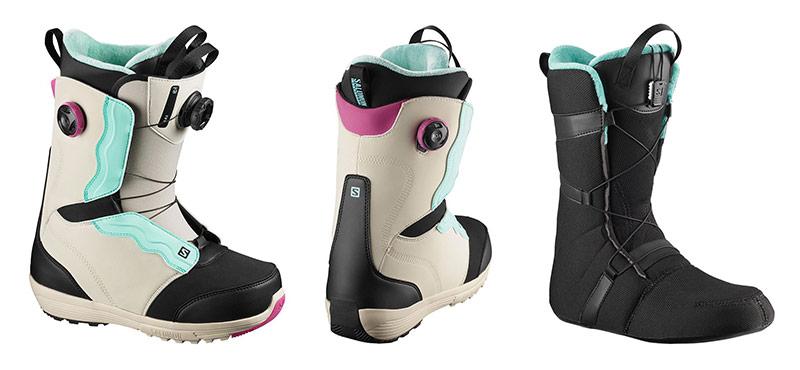 Ženski snowboard čevlji Salomon Ivy Boa