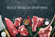 Rdeče meso za športnike
