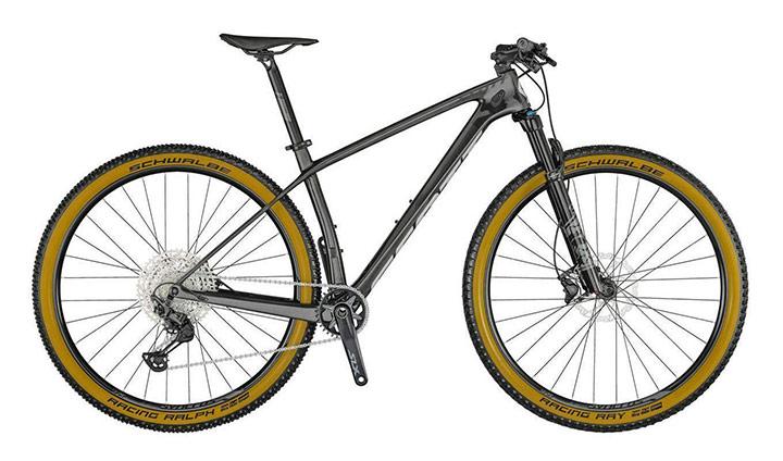 Gorsko kolo s sprednjim vzmetenjem Scott Scale 925