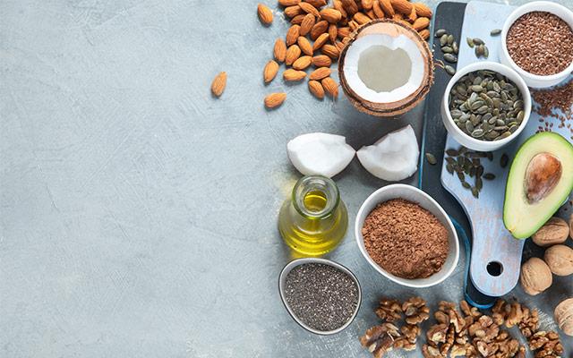 Viri zdravih maščob za vegane