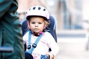 Kolesarjenje z majhnim otrokom