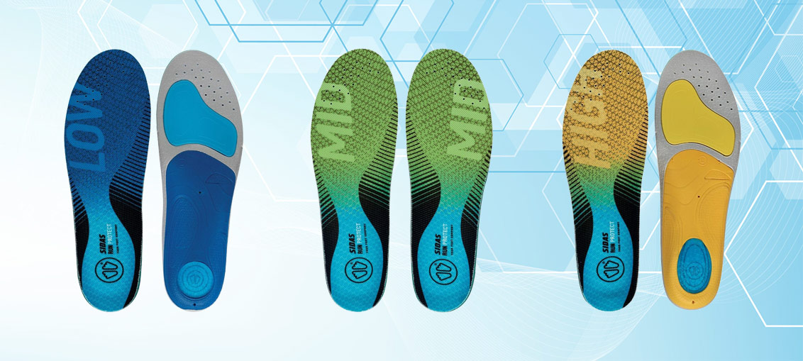 Vložki Sidas za tekaške čevlje