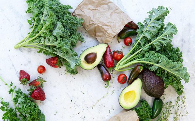 Sadje in zelenjava - antioksidanti
